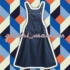 Stella A-Line Overall Skirt seharga Rp165.000. Dapatkan produk ini hanya di Shopee! {{product_link}} #ShopeeID