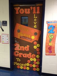 Borrowed this idea from someone else on Pinterest, I changed the words for my Back to School door.