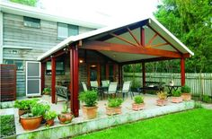 There are lots of pergola designs for you to choose from. You can choose the design based on various factors. First of all you have to decide where you are going to have your pergola and how much shade you want. Diy Pergola, Building A Pergola, Pergola Curtains, Wooden Pergola, Outdoor Pergola, Pergola Shade, Outdoor Rooms, Gazebo, Outdoor Living