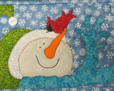 Snowman Friends are getting ready to decorate the tree for Christmas!  St. Nick is a cute Santa design.  Jolly Penguin is a fun winter design and then theres Santa Little Reindeer. A wonderful collection of Quilt Doodle Holiday designs. These applique designs can be put on a tea towel like the directions instruct or used as a quilt square, appliqued pillow or any project that your imagination can think up. Let your imagination go! These designs would also be cute on a sweatshirt or on a…