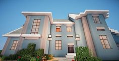 Suburban House Project | Minecraft House Design                                                                                                                                                                                 More