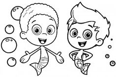 Bubble Guppies Coloring Pages 001 Printable