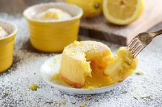 Recipe: Lemon Lava Cake