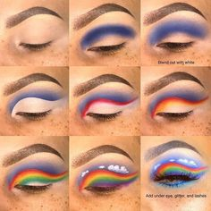Visit the webpage to read more on eye makeup tips and hacks Makeup Eye Looks, Eye Makeup Steps, Eye Makeup Art, Colorful Eye Makeup, Crazy Makeup, Skin Makeup, Eyeshadow Makeup, Fairy Makeup, Mermaid Makeup