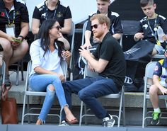 Celebrity & Entertainment | Prince Harry and Meghan Markle Arrive Hand in Hand at the Invictus Games, and It's Royally Adorable | POPSUGAR Celebrity Photo 26