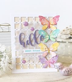 We're Fluttering By with a Fabulous Blog Hop for Simon Says Stamp!