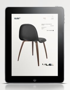 GUBI.COM  Interior design company from Denmark in new design