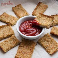 Crackers de conopida si quinoa / Cauliflower & quinoa crackers - Madeline's Cuisine