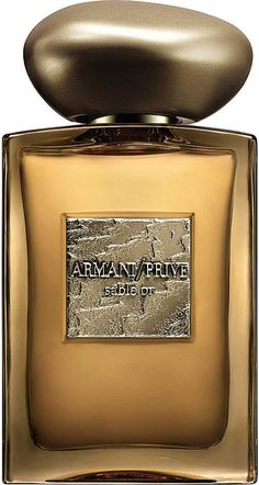 Giorgio Armani Armani Privé Sable Or Eau De Parfum - for Women Perfume Scents, Perfume And Cologne, Best Perfume, Perfume Bottles, Best Fragrance For Men, Best Fragrances, Parfum Giorgio Armani, Armani Privé, Emporio Armani