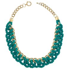 Tiffany OFF! Breakfast at Tiffanys Necklace in Teal Handmade by Knotty Gal Braided Necklace, Beaded Statement Necklace, Feather Necklaces, Strand Necklace, Gold Necklace, Tiffany And Co Jewelry, Tiffany And Co Necklace, Fashion Jewelry Necklaces, Trendy Jewelry