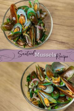 Sauteed Mussels is made of Mussels/ Tahong with tomatoes, ginger and Sprite. Filipino Seafood Recipe, Filipino Recipes, Seafood Recipes, Snack Recipes, Filipino Food, Yummy Recipes, Fried Tilapia, Turkey Meatloaf, Pasta
