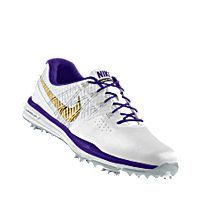 new concept 057cd 2d3be I designed the white Prairie View A M Panthers Nike men s golf shoe with  purple and gold