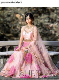 Call/WhatsApp for more details Purchase Indian Bridal Outfits, Indian Designer Outfits, Indian Dresses, Designer Dresses, Designer Lehanga, Pakistani Outfits, Floral Lehenga, Half Saree Lehenga, Anarkali Dress