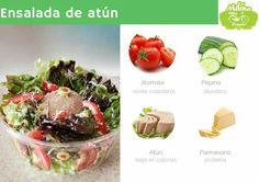 Ensalada clasica con atún. Potato Salad, Potatoes, Ethnic Recipes, Food, Cucumber, Breakfast, Potato, Meals, Yemek
