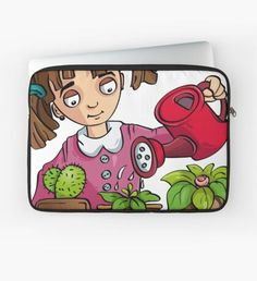"""""""Flowers"""" Laptop Sleeve by"""