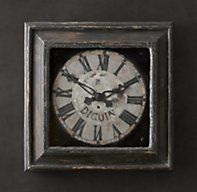 19th C. Framed Digoin Clock | Clocks | Restoration Hardware