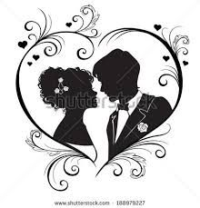 Image result for silhouette of couple proposing