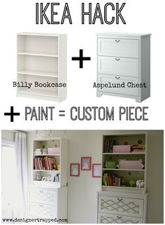Customize Ikea Furniture With Paint! {ikea Hack By Designer Trapped In A…