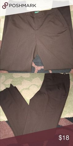 """Ralph Lauren Exclusive Classy brown skinny leg dress pants. From the Lauren exclusive line. Wool/Elastaine. Like new, no signs of wear. 2 functioning front pockets. 2 esthetic back pockets. So versatile and classic. 15"""" across at waist laying flat. Inseam is 32"""". BUNDLE & SAVE 20%!!! Lauren Ralph Lauren Pants Skinny"""