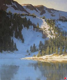 Thaw by Kathleen Dunphy Oil ~ 24 x 20
