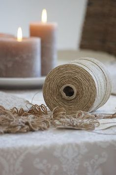 Twine crafting... this blog is beautiful!