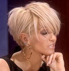 Short hair cuts for females - New Hair Styles ideas Popular Short Hairstyles, Girls Short Haircuts, Bob Hairstyles, Short Choppy Hairstyles, Long Pixie Hairstyles, Short Women's Haircuts, Hairstyle Short Hair, Popular Haircuts For Women, Choppy Layered Haircuts