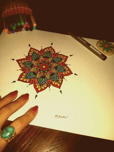 Mandala colors
