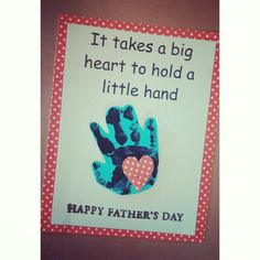 Happy fathers day card
