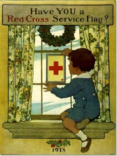 Have you a Red Cross service flag? by Jessie Wilcox Smith