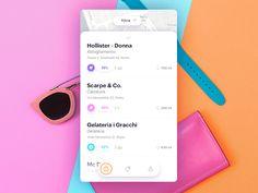 Prototyping App for proximity marketing by Gaia Zuccaro - Dribbble