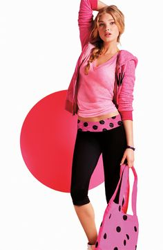 PINK girls love yoga.