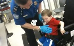 TSA Searches Wheelchair Bound Child:  Child joins long list of dubious Al Queda Suspects