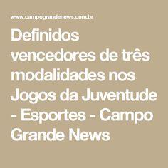 Definidos vencedores de três modalidades nos Jogos da Juventude - Esportes - Campo Grande News