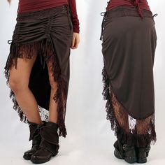 """Jupe Exception """"Malee"""" (37€). Boho, Bohemian, Fairy, Gypsy and tribal skirt. For an alternativ ethnique look and summer festival style ;) ❃"""