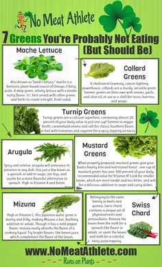 7 Greens You're Probably Not Eating (But Should Be) [Infographic]