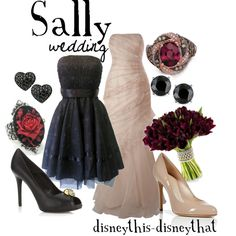 Sally Wedding, created by disneythis-disneythat on Polyvore