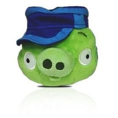 Angry Birds Plush 6-Inch Pig with Postman Hat Angry Birds