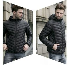 Pánská zimní lehká prošívaná bunda černá – Velikost L Na tento produkt se vztahuje nejen zajímavá sleva, ale také poštovné zdarma! Využij této výhodné nabídky a ušetři na poštovném, stejně jako to udělalo již velké … Men's Jackets, Winter Jackets, Fashion, Winter Coats, Moda, Fashion Styles, Fashion Illustrations