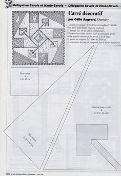 33 carré décoratif