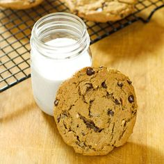 These easy almond butter chocolate chip cookies are gluten-free, grain-free, and dairy-free with just 5 ingredients. A perfect quick dessert...