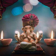 Shri Ganesh Images, Ganesh Chaturthi Images, Ganesha Pictures, Krishna Images, Shiva Art, Ganesha Art, Krishna Art, Ganpati Bappa Wallpapers, Lord Krishna Hd Wallpaper