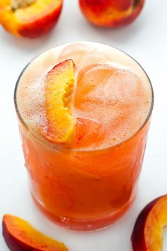 Fresh Peach Margaritas make an incredible cocktail