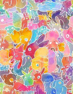 """Bunny Invasion"" by miranema | Redbubble"