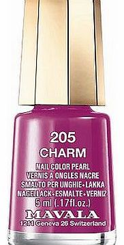 Mavala nail polish charm 5ml 10174537 16 Advantage card points. Mavala nail polish charm 5ml Long-lasting quality polish produces a professional finish thats even, smooth and glossy, perfect little pots of colour that wont dry out before http://www.comparestoreprices.co.uk/nail-products/mavala-nail-polish-charm-5ml-10174537.asp