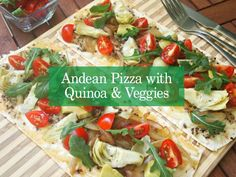 A beautiful summer flatbread pizza inspired by the native grains of Peru, Morena Cuadra's Andean Pizza with Quinoa and Vegetables is just the thing to make on summer days and nights. Loaded with protein packed quinoa, fried onions, and artichokes, you will love this flatbread. Read more from this fabulous mother/daughter team on the blog …