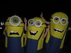 ▶ DIY Fancy-dress Despicable Me Minion Costume (FAST video) - YouTube