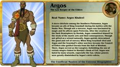 FIC Gbagok's Unofficial Character Bios - Page 25