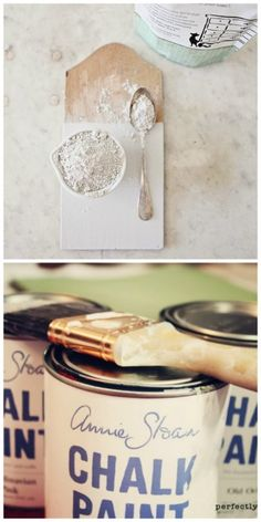 milk paint vs chalk paint from the pro, Miss Mustard Seed.