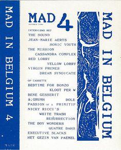 Various - Mad In Belgium 4 (Cassette) at Discogs