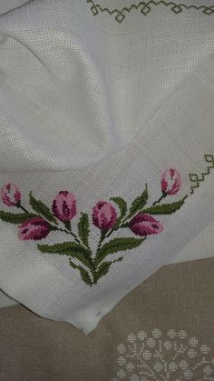 The most beautiful cross-stitch pattern - Knitting, Crochet Love Cross Stitch Letters, Just Cross Stitch, Cross Stitch Borders, Cross Stitch Samplers, Cross Stitch Flowers, Modern Cross Stitch, Cross Stitch Designs, Cross Stitching, Stitch Patterns